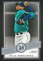 2016 Topps Museum Collection Baseball #57 Felix Hernandez Seattle Mariners
