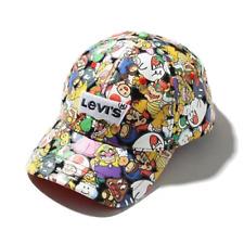 Levi's x Nintendo Super Mario Collaboration All Over Print Cap Limited Edition