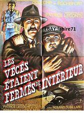 LES VECES ETAIENT FERMES ....   ! coluche affiche cinema sole citroen cars 1975