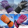 Waterproof Gloves Ski Winter Snow Warm Sports Skiing Women Windproof Snowboard