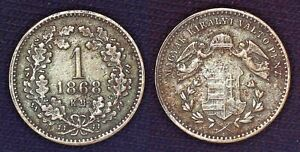 Hungary 1868 1 Kreuzer