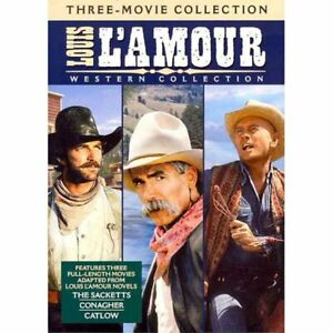 Louis L Amour Western Collection (The Sacketts, Catlow, Conagher) Region 4 DVD