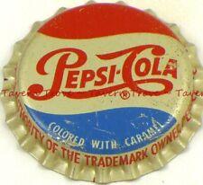 "1940s /""Bottled Locally/"" PATIO ORANGE SODA Cork Crown Tavern Trove"