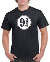 Harry Potter T-Shirt - 9 3/4 Quarter Platform 9 3/4 Kings Cross Station