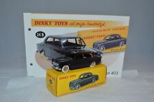 Dinky Toys Atlas 24B 24 B Peugeot 403 Berline with leaflat mint in box