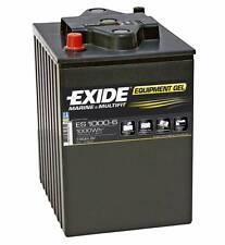 Batterie EXIDE equipement GEL ES1000-6 6v 195ah 900A  244X190X275MM