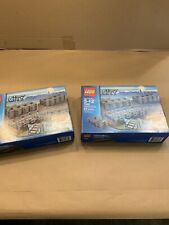 Lego 7499 City Flexible and Straight Train Tracks Retired Opened Complete