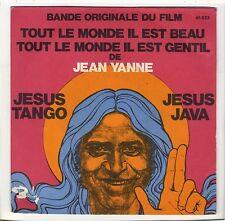 BOF Tout le monde il est beau Jesus tango Jean Yanne Ginette Garcin Anne Germain