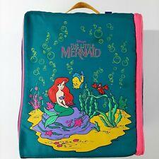 Vintage 1991 Walt Disney The Little Mermaid Wiz Too Book Bag Locker Bag