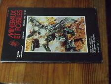8µ? Revue Minéraux & Fossiles Guide Collectionneur n°62 Talc Luzenac Mine Lozere