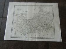 1798 ORIGINAL Map of  Prussia, Germany, Poland