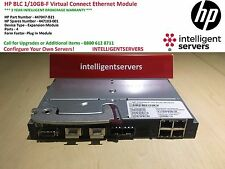 HP BLC 1/10GB-F Virtual Connect Ethernet Switch P/N: 447047-B21 / 447103-001