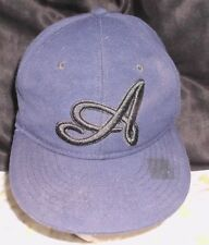Atlanta Braves Ball Cap hat Adult M baseball Fitted navy blue Pit Bull awesome