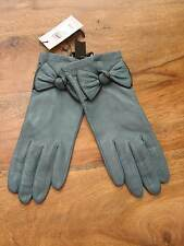 JOHN LEWIS LADIES LEATHER GLOVES SILK LINED SZ S/M  BNWT LOVELY RRP £35