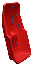 Large Kids Adults Snow Sledge Sleigh Sled Toboggan With Rope Plastic Heavy Duty