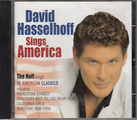 HASSELHOFF David CD Sings America - EU