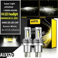 AUXITO H4 9003 LED Headlight Kit 16000LM Hi/Low Beam Bulbs Super Bright Lamp US1