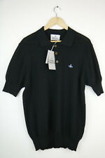 VIVIENNE WESTWOOD MENS KNITTED POLO SHIRT SIZE XL, RRP £235