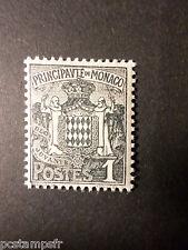 MONACO - 1924 - timbre 73 -  Armoiries - neuf**