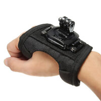 360 Degree Rotate Glove Hand Arm Wrist Strap Mount for GoPro Hero 7 6 5