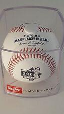 DAVID ORTIZ Official Rawlings 500 Home Run HR Baseball BOSTON RED SOX - CUBED