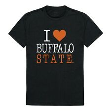 Buffalo State College Bengals NCAA Cotton I Love Tee T Shirt