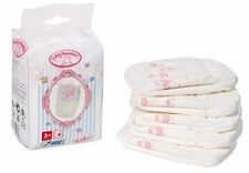 Baby Annabell Doll Nappies 5 Pack for 43cm Dolls