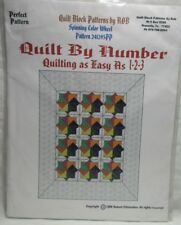 Spinning Color Wheel w/Acrylic Templates / Quilt Block Patterns by Rob - NEW