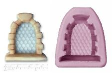 FAIRY / CASTLE WINDOW Craft Sugarcraft Sculpey Silicone Rubber Mould