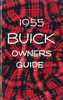 1955 Buick Owners Manual User Guide Reference Operator Book Fuses Fluids OEM