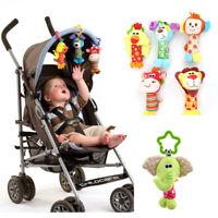 Kids Baby Bed Pram Handbell Stroller Hanging Handbell Pendant Stuffed Rattle Toy