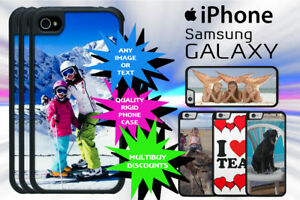 Personalised Mobile Photo Phone Case Cover Custom Print For Most IPhone models