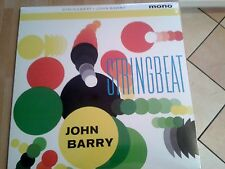 JOHN BARRY - STRINGBEAT MONO LP 2012 RE-ISSUE ITALIAN IMPORT NEW SEALED