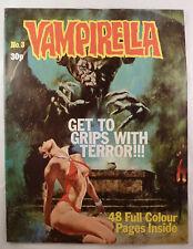 Vampirella #3 - Warren Publishing UK - 30p (Pence) Publication 1975  F/VF 7.0