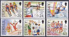 Jersey 1997 Seventh Island Games Jersey Set UM SG818-23 Cat £5.25