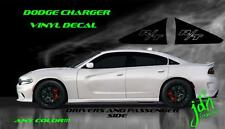 2012 2011 2012 2013 RT SRT8 Super Bee Dodge Charger Vinyl Decal Hockey Stripe S2