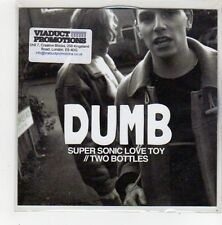(FN597) Dumb, Super Sonic Love Toy - 2013 DJ CD