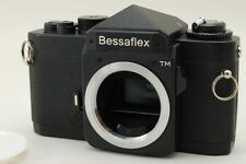 【N Mint】Voigtlander Bessaflex TM Black 35mm Film Camera For M42 Mount From JAPAN