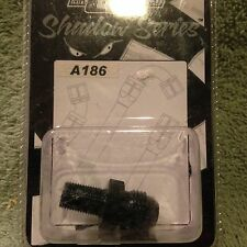"""NTB  Mr. Gasket Shadow Series A186 Pipe to AN Straight 1/8"""" to -6"""