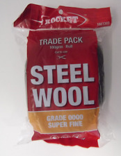 Rocket Super Fine Steel Wool Grade 0000 Various uses Clean 100 Gram Roll