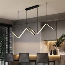 Modern Ceiling lighting Fixtures Gold Black Dining Room Metal Chandelier