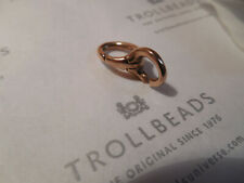 NEW Authentic X by Trollbeads Basic Bronze Lock Link XBRLO-00001