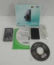 Canon PowerShot ELPH 130 IS 140 16.0MP Digital Camera - Gray w/ Box