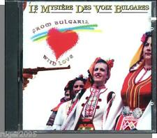 Le Mystere des Voix Bulgares - From Bulgaria with Love - New 1992 CD!