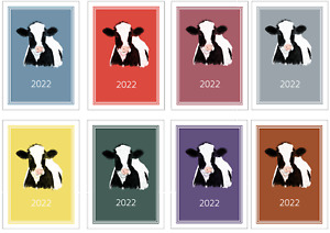 Cow 2022 A5 Week Per View Diary NORMAL/DOG SHOW DATES/APPOINTMENT