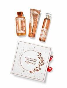 Bath and Body Works Warm Vanilla Sugar Gift Box Set. Travel Size.
