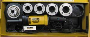REMS Gewindeschneidmaschine Amigo 2 Compact M 20-25-32-40-50 Nr. 540025