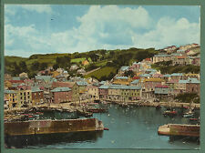 1960'S LARGE SIZE POSTCARD GENERAL VIEW OF MEVAGISSEY, CORNWALL