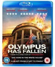 Olympus Has Fallen DVDs & Morgan Freeman Blu-ray Discs