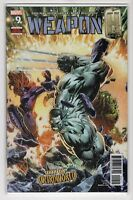 Weapon H Issue #9 Marvel Comics (1st Print 2018)